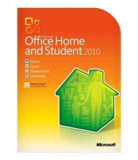 MICROSOFT MS OFFICE 2010 HOME AND STUDENT Full Version 3 Users PC