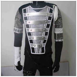 New Michael Jackson MJ History MTV Teaser Military Jacket Pro Series
