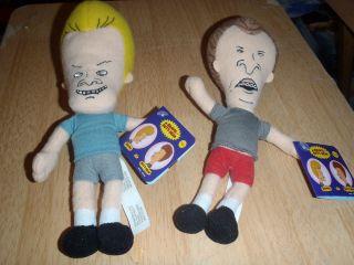 Plush Figure Doll Set Mike Judge MTV Cult Classic Funko New
