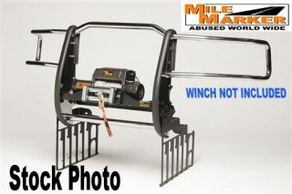Mile Marker Extreme Mount Winch Grille Guards Chevy Silverado 1500