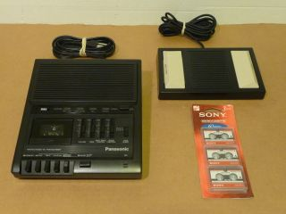 Panasonic RR 930 Microcassette Transcriber Tapes