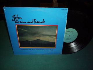 RARE John Vartan Friends Armenian Folk Oud PRV Press