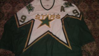 Mike Modano CCM Dallas Stars Authentic on Ice Game NHL Hockey Jersey
