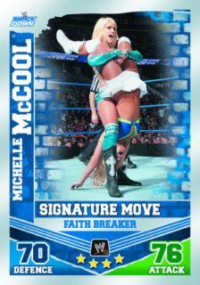 WWE Slam Attax Mayhem Signature Move Michelle McCool