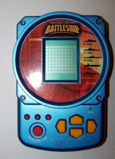 Milton Bradley Battleship Electronic Handheld Game Toy Hand Held