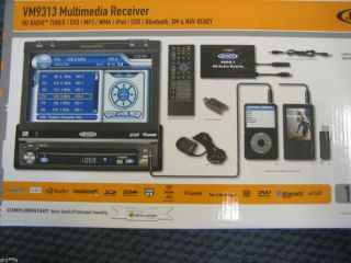 Jensen VM9313 DVD HD Radio Tuner MP3 WMA iPod USB WMA Bluetooth XM NAV