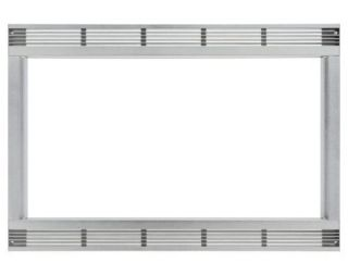 27 Stainless Steel Trim Kit for 2 2 cuft Stainless Steel Microwaves