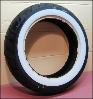 Dunlop FL Touring D407 Wide White Wall Rear Tire 43230 09 FLHR