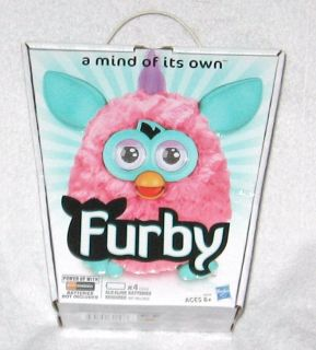 Furby A Mind Of Its Own 2012 Pink Cotton Candy Interactive Toy New In