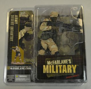 McFarlanes Military Series Debut Army Desert Infantry Variant Soldier