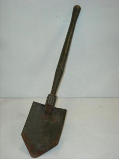 Vintage WWII US 1945 Entrenching Tool Military Shovel