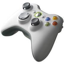 Microsoft Xbox 360 Wireless Controller White