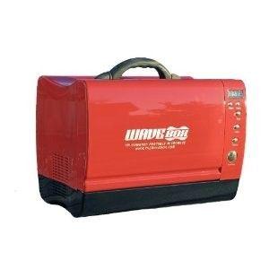 Red Wavebox 12V Portable Microwave Oven AC230V
