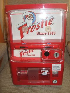 Frostie Mini Vending Machine Works Excellent Soda Machine