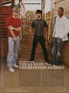 Penn Badgley Milo Ventimiglia Elle Magazine Feature