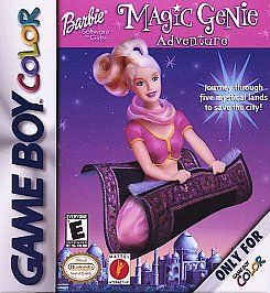 Barbie Magic Genie Adventure Nintendo Game Boy Color, 2000