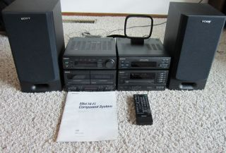 Sony MHC 2750 Mini Stereo Component Shelf System