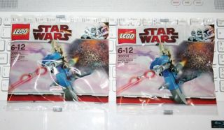 2X Star Wars Lego Mini Figure Building Set Battle Droid