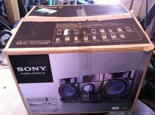 Sony MHC EC709IP Mini Hi Fi Music Stereo CD System
