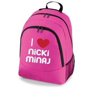 Love Nicki Minaj Bag New Girls School Backpack