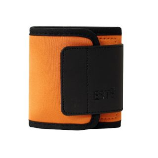 Velcro Neoprene Wallet for Mini SD Card and Accessories Orange