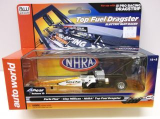 Auto World HO Scale Dragster Clay Millican Parts Plus Electric Slot