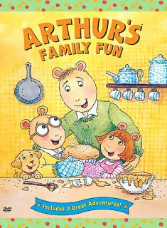 Arthur   Arthurs Family Fun DVD, 2003