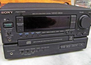 Sony MHC 300 Hi Fi Mini Stereo System