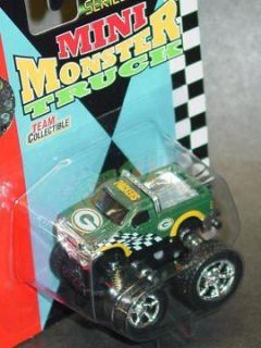 NFL 2004 Mini Monster Truck 2 Green Bay Packers New