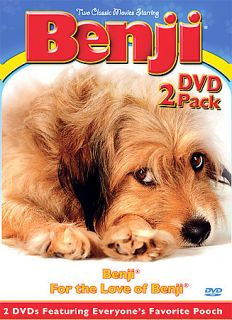 Benji 2 Pack DVD, 2004, 2 Disc Set, 2 Pack