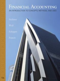 Financial Accounting An Introduction to Concepts, Methods and Uses by