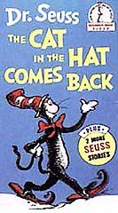 Dr. Seuss   The Cat in the Hat Comes Back VHS, 1994