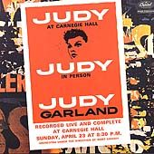 Judy at Carnegie Hall Remaster by Judy Garland CD, Feb 2001, 2 Discs