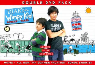 Diary of a Wimpy Kid Rodrick Rules DVD, 2011, 2 Disc Set, Special