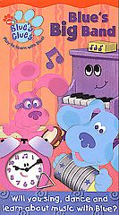 Blues Clues   Blues Big Band VHS, 2003
