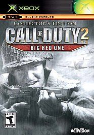 Call of Duty 2 Big Red One Collectors Edition Xbox, 2005