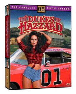 Dukes of Hazzard   The Complete Fifth Season DVD, 2005, 8 Disc Set