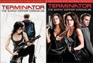 Terminator The Sarah Connor Chronicles   The Complete Seasons 1 2 DVD