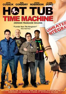 Hot Tub Time Machine DVD, 2010, Canadian
