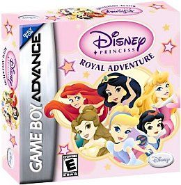Disney Princess Royal Adventure Nintendo Game Boy Advance, 2006