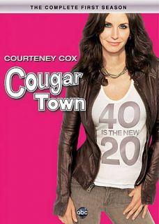 Cougar Town The Complete First Season DVD, 2010, 3 Disc Set