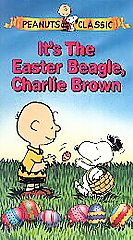 Its the Easter Beagle, Charlie Brown VHS, 1997