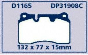 EBC Brake DP31908C Disc Brake Pad