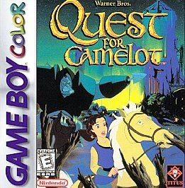 Quest for Camelot Nintendo Game Boy Color, 1999