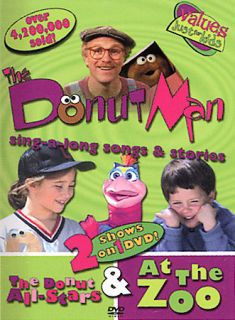 The Donut Man   The Donut All Stars At the Zoo DVD, 2004