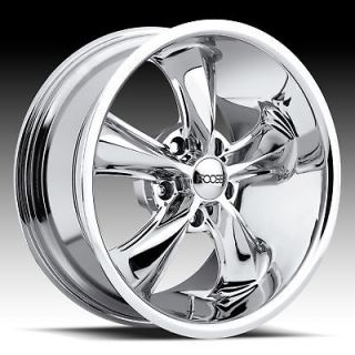 18 X 7 FOOSE LEGEND MUSTANG WRANGLER LINCOLN WHEELS RIMS CHROME 18