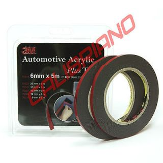 3M Automotive Acrylic Plus Double Sided Attachment Tape 1/4in