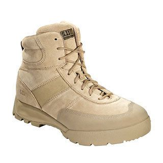 11 Tactical Mens Advance Tactical Desert Boots w/ Moisture wicki ng