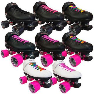 Riedell R3 Cayman Quad Roller Derby Speed Skates