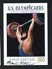 Mario Martinez signed autograph auto 1992 Impel U.S. Olympic Hopefuls
